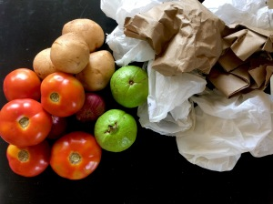 Pretty Veggies can stay without dirty plastsic